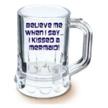 1 25 oz mini beer mug custom printed personalized plastic shot