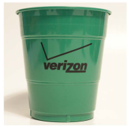 12 oz. Emerald Green Colored Custom Printed Plastic Drink Party cups! Great wholesale pricing for Weddings, Corporate Office Meetings, Sport events, Schools, Churches, Street Festivals, Restaurants, Bars and more! 12L39