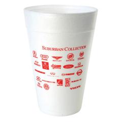 32oz ounce custom printed styrofoam foam insulated cups for