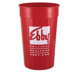 ecc9fe2f78c Custom Print Fluted 22 oz. personalized promotional Stadium Cups ...