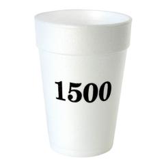 Custom printed 12 oz ounce Strofoam foam cups for