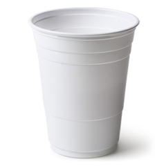 custom 16oz white party cups r generic equivalent to custom solo