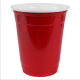 10 oz custom printed red Solo Cups. These R the 10 oz Solo Brand party cups with personalized imprinting. All custom Solo cups in stock. Enjoy personalized 10oz Red Solo cups as custom Frat party cups. Custom Red Solo sample cups rock on! 10K42
