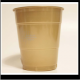 12 oz. Old Gold Colored Custom Printed Plastic Drink Party cups! Great wholesale pricing for Weddings, Corporate Office Meetings, Sport events, Schools, Churches, Street Festivals, Restaurants, Bars and more! 12738