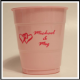 12 oz. Pink Colored Custom Printed Plastic Drink Party cups! Great wholesale pricing for Weddings, Corporate Office Meetings, Sport events, Schools, Churches, Street Festivals, Restaurants, Bars, Birthdays and more! 12038
