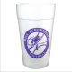 44 oz ounce styrofoam cups and lids custom printed with your own personalization name and logo in any color . Personalized insulated foam cups help Brand your restaurant or company image & make you look sharp ! F4494