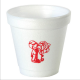 Personalized and printed custom 4 oz ounce foam styrofoam insulated cups & lids with your custom restaurant or company name and logo in your favorite imprint color . Can be used for break rooms , take out to go orders for hot & cold drinks . PERY4