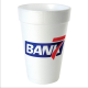 Personalized printed 16 oz ounce styrofoam foam cups with your restaurant or coffee shop name and logo ! These insulated industry use cups will look great in your client's hands! Fits coffee frozen & soft drinks + samplers & disposables PERU4