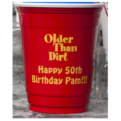 Custom Printed 16 Oz Solo Cups These Red Party Are Personalized Frat